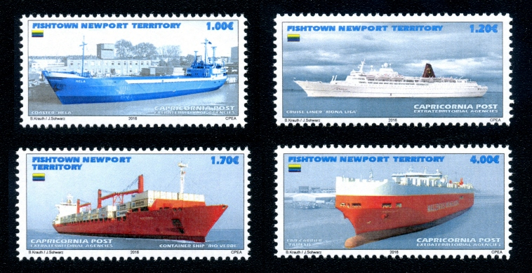 Fishtown Newport Territory - 2016 Ships issue